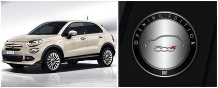 Fiat 500X Opening Edition, limitado a 2.000 unidades