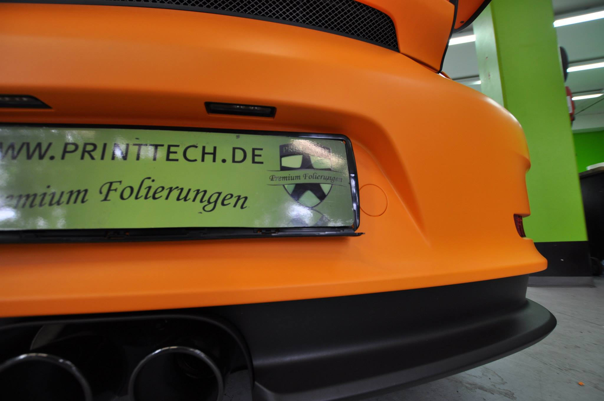 Foto de Porsche 911 GT3 RS naranja mate (10/12)