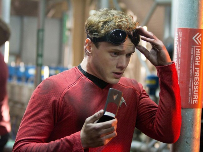Anton Yelchin en Star Trek