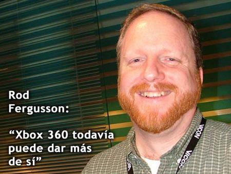 """Rod Fergusson: """"Xbox 360 todavía puede dar más de sí"""""""