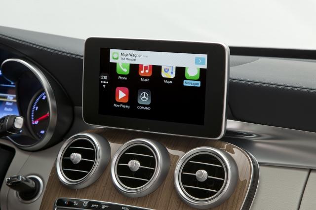 Foto de CarPlay Mercedes Benz Clase C (6/26)