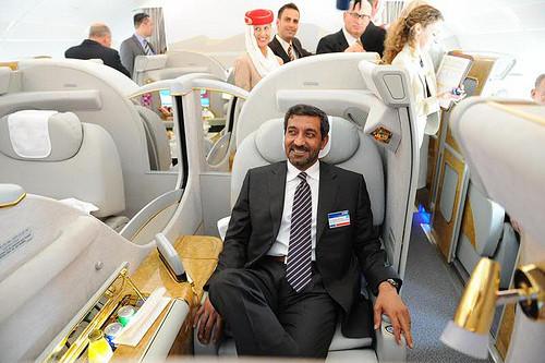 Foto de Emirates Airlines A380  (1/8)