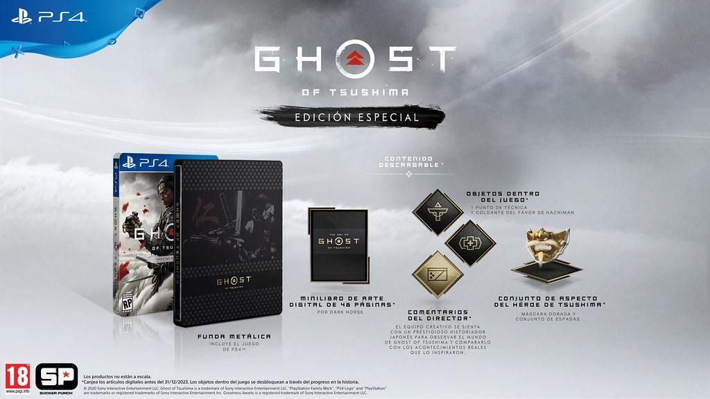 Ghost of Tsushima: Edición Especial