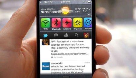Usar widgets personalizados es posible en iOS 5 mediante Jailbreak