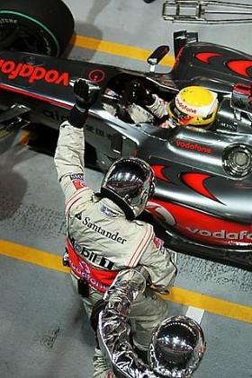 Cargas de combustible para el GP de Singapur