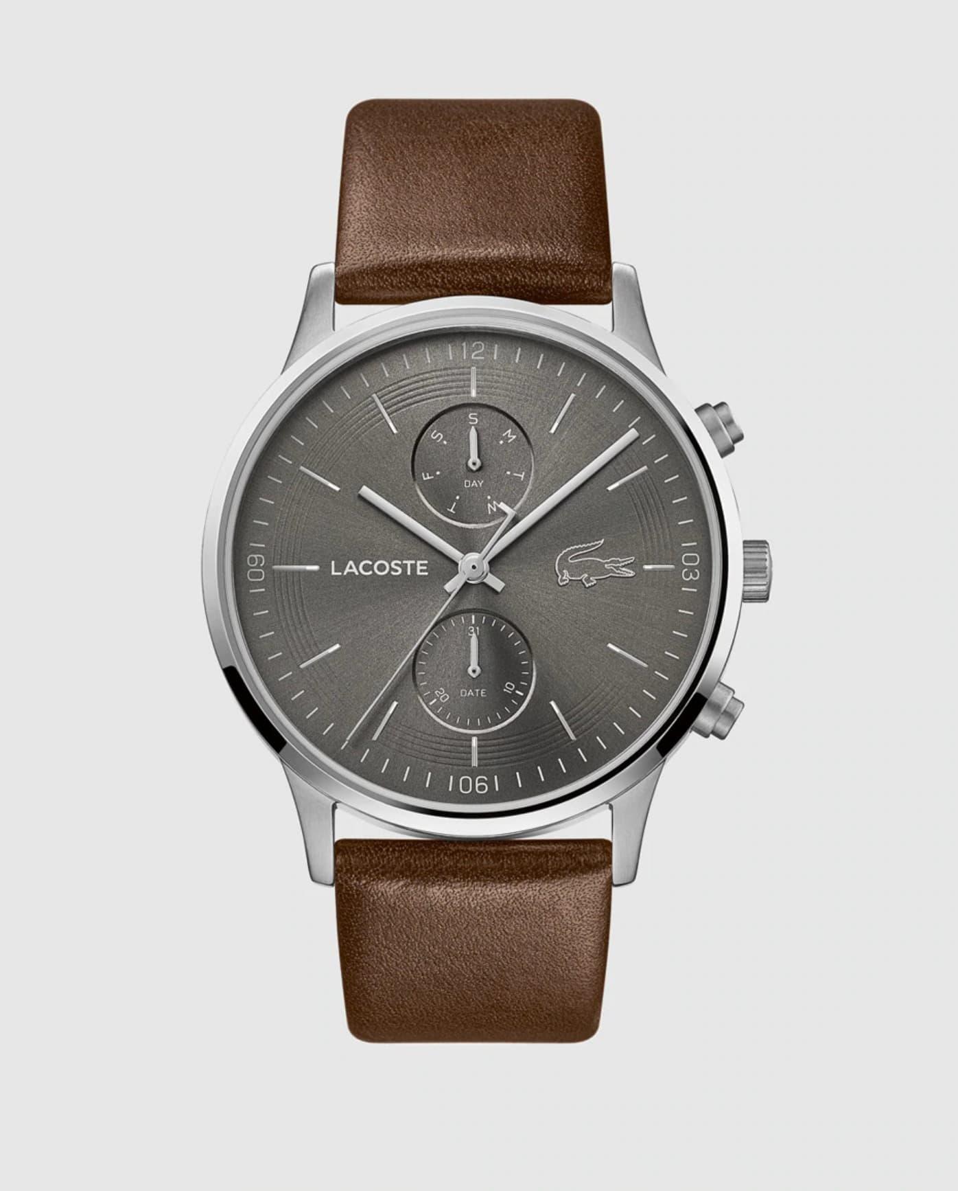 Reloj de hombre Lacoste Watches 2011066 de piel marrón