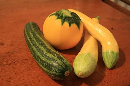 Verduras en la alimentación infantil: calabaza y calabacín