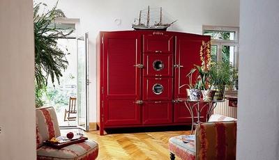 Meneghini La Cambusa, la nevera de veinte mil euros que parece un mueble para el salón