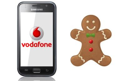 Samsung Galaxy S (Vodafone) también se actualiza a Gingerbread