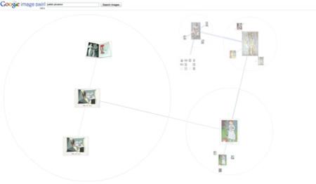 Google Image Swirl, el nuevo experimento de Google Labs