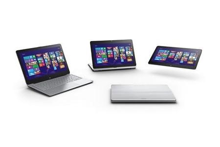 IFA 2013: Sony refuerza su línea de laptop-tableta con Vaio Fit Multi-flip