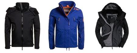 3 chaquetas para hombre de Superdry  rebajadas en eBay en sus ofertas semanales