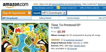 Las ofertas diarias de música digital de Amazon: discos a menos de un dolar