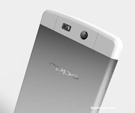 Este podría ser el diseño final de la carcasa metálica del Oppo N3, y pinta muy bien