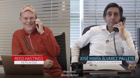 Netflix y Telefónica firman la paz: los contenidos de Netflix se integrarán en las plataformas de Movistar