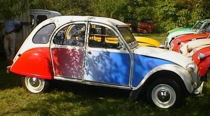 2CV Mundial Francia