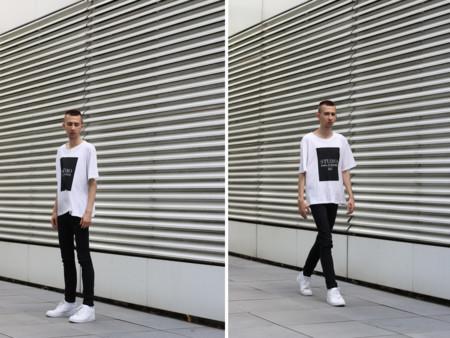 Blanco Y Negro Trendencias Hombre 20155