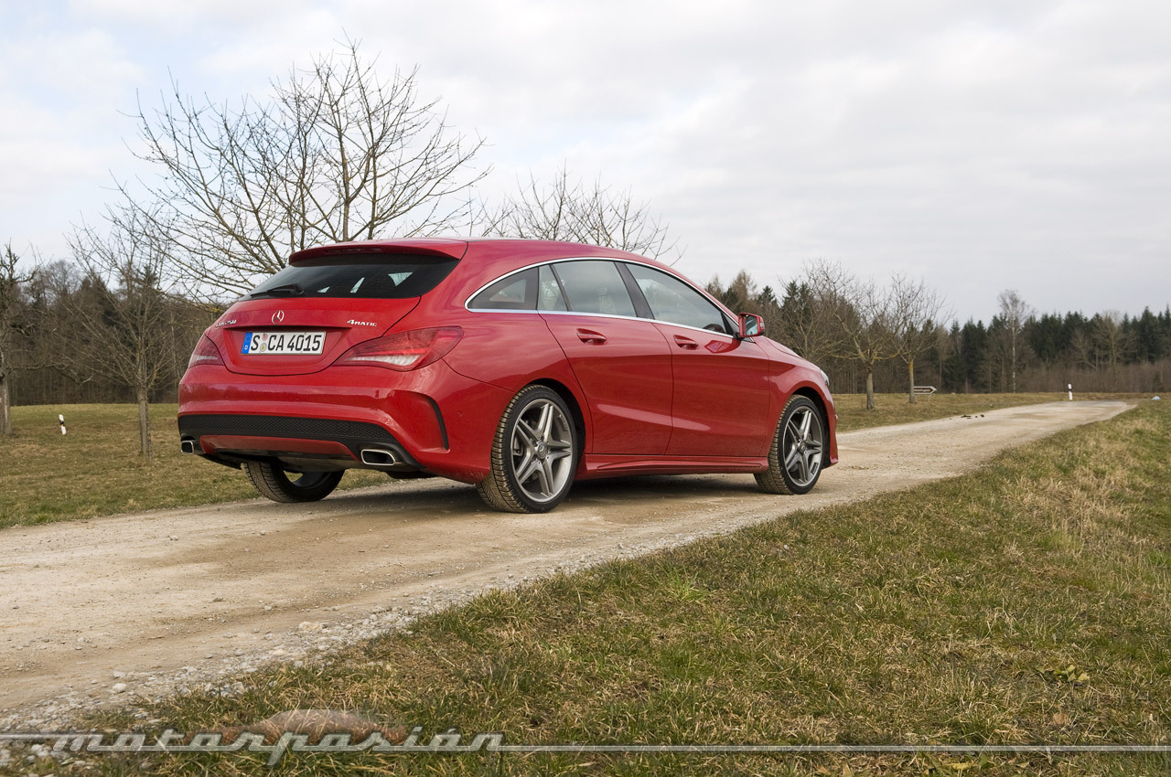 Mercedes Benz Cla Shooting Brake Toma De Contacto 5 24