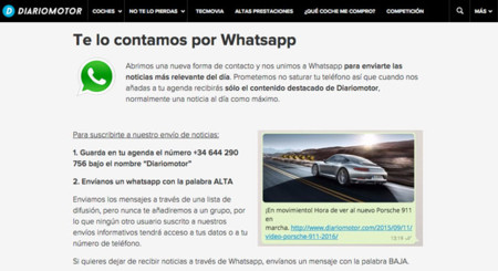 Diariomotor Whatsapp
