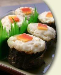 Caramelos en forma de sushi