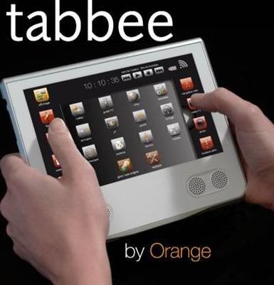 Orange lanzará Tabbee, un dispositivo para acceder a Internet