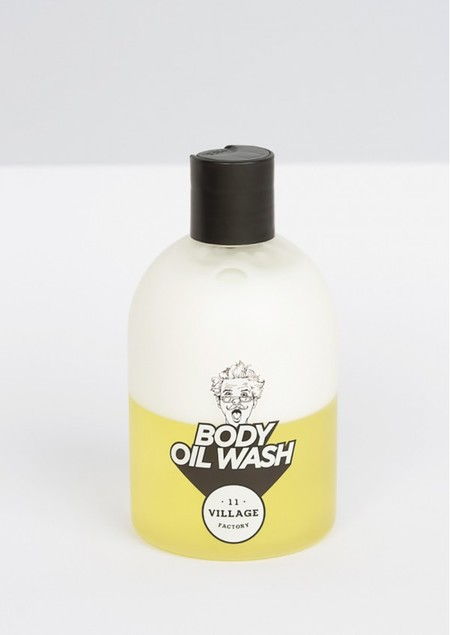 body oil wash