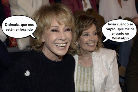 Mila Ximénez muy decepcionada por la traición de María Teresa Campos: ya no habrá más partidas de Cinquillo ni bufandas de ganchillo