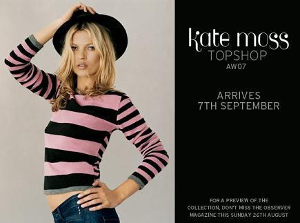 Nueva colección de Kate Moss para TopShop