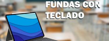Prepárate para la vuelta a clase con tu iPad y estas fundas con teclado para no perder ni un apunte