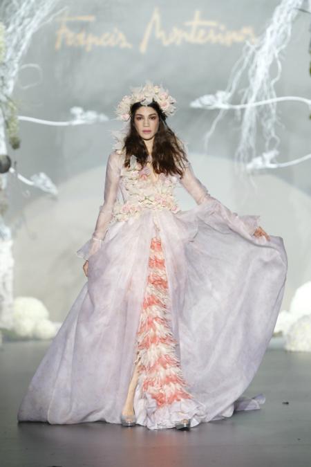 vestido novia montesinos otoño 2012