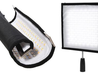 Polaroid Flexible LED Lighting Panel, un accesorio luminoso potente, ligero y polivalente