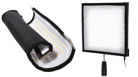 Polaroid Flexible LED Lighting Panel, un accesorio luminoso potente, ligero y polivalente