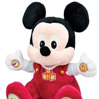 Ideal para niños de seis meses o más: peluche educativo de Baby Mickey por 19€ en Amazon