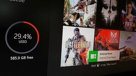 Microsoft permitirá el uso de discos duros externos en Xbox One