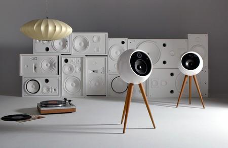Bossa Sound Moonraker, unos altavoces esféricos que darán cierto toque futurista a tu salón