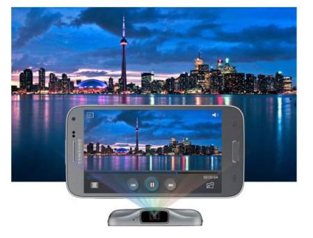 Samsung Galaxy Beam 2 y su picoproyector se dejan ver en China