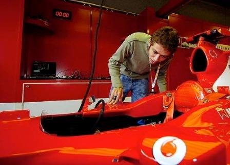 Valentino Rossi podría pilotar para Italia en la A1GP