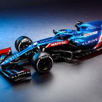 ¡Precioso! Este es el Alpine A521, el coche con el que Fernando Alonso volverá a vestir de azul en la Fórmula 1