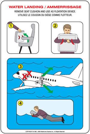 Eliminan los chalecos salvavidas en algunos vuelos