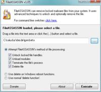 FileAssassin nos desbloquea archivos rebeldes en Windows