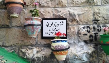 Jordania Letrero Amman