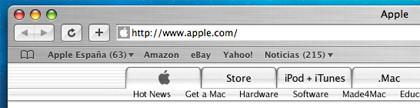 Los visitantes de la web de Apple aumentan un 21% con respecto al año pasado
