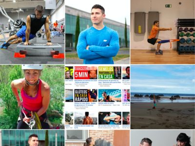 Doy clases de fitness y tengo 500.000 alumnos: Youtube es mi gimnasio