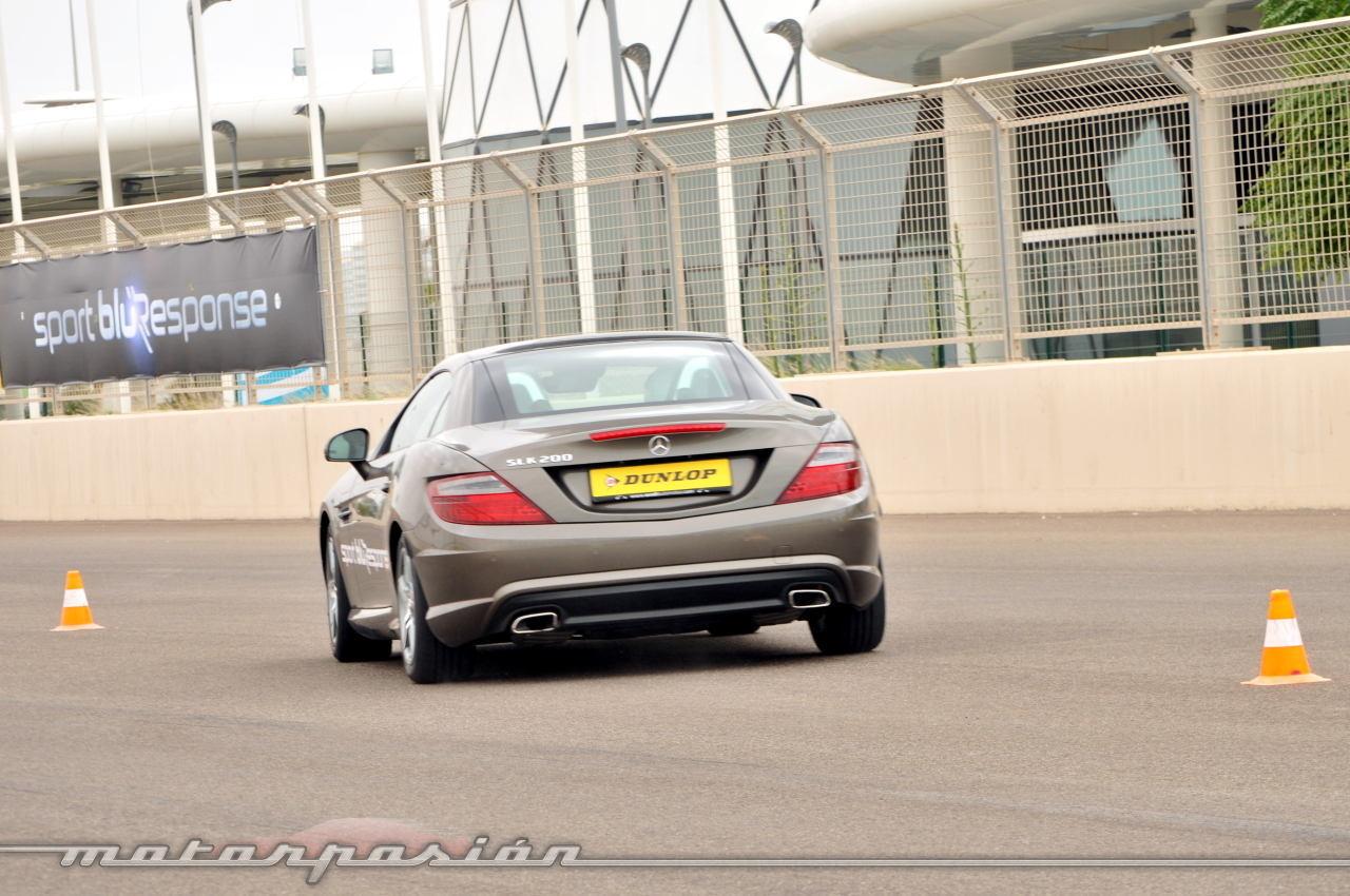 Foto de Dunlop Sport BluResponse, presentación y prueba en Yas Marina (17/24)