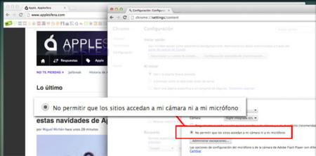 Fallo en Google Chrome podría permitir acceso al micro de nuestro Mac