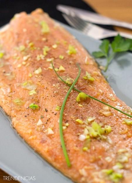 Salmon Agridulce