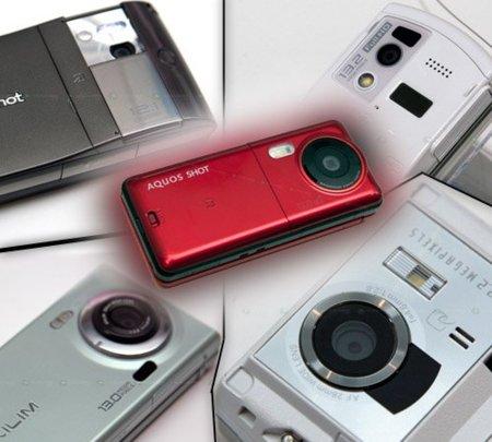 Móviles a una cámara pegados: Cinco novedades japonesas con cámaras de más de 12 Mpx