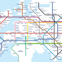 De Ciudad de México a París en hyperloop: así serán los mapamundi de un futuro hiperconectado