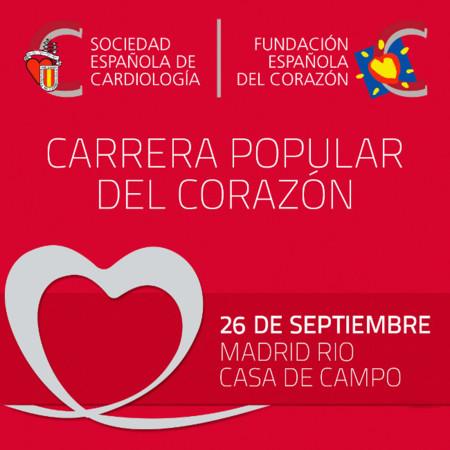 Carrera Popular del Corazón, un evento solidario a favor de la salud