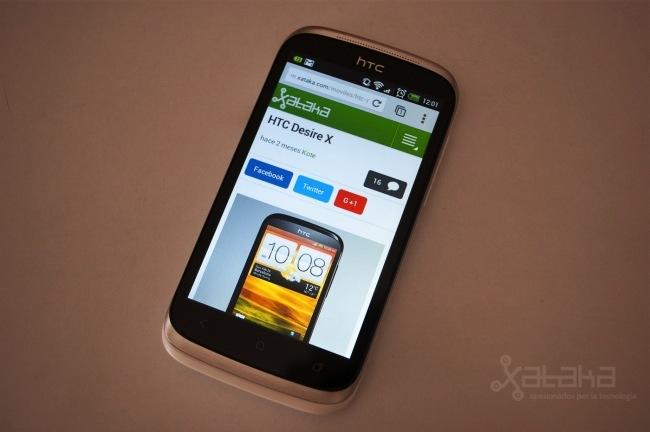 HTC Desire X a análisis